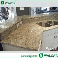 Giallo Ornamental Granite prefab laminate kitchen countertops