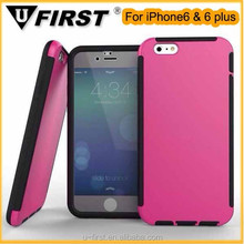 """High quality 3 in 1 heavy duty shockproof waterproof case for iphone 6 5.5"""""""