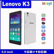 """Original Lenovo K3 Lemon K3 Note K50-t5 K30-T K30-W Cell Phone Android 5.0 MTK6752 Quad Core 5.5"""" IPS 1920x1080 16GB ROM"""