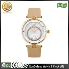 2015 corporate PU cheap chinese watch