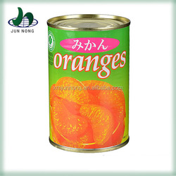 2015 New crop canned orange colored fruits