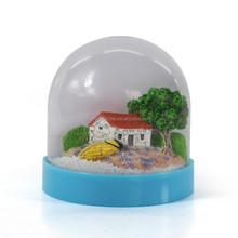 Clear acrylic half dome, plastic half dome