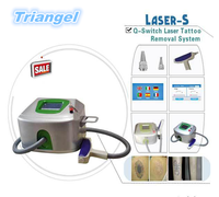 2015 New portable q-switch nd:yag laser machine for tattoo removal