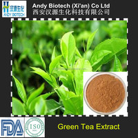 Polyphenol 98% Natural China Green Tea Extract Powder