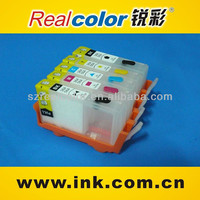 4 Empty Compatible Refillable Ink Cartridge for 364/564/178