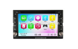 "In-dash Head Unit 6.2"" Touch Screen 2 Din Autoradio With Built-in 3G WIFI Bluetooth GPS"