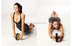 Hot sell Fitness Abdominal Workout Dual Exercise ab roller wheel exercises