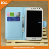 New stylish leather flip wallet book cover case for samsung galaxy S4 i9500