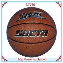 Specail Offer PU leather basketball ball ST786