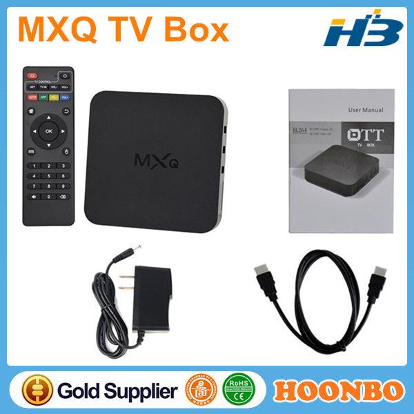ott tv box mxq user manual