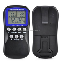 Digital Probe Alarm Thermometer Timer Home Cooking Kitchen BBQ Food Meat Tools