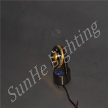 Adjustable Low Power modern smooth body led wall light & 1-3W
