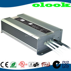Waterproof 12V 16.7A 200W Constant Voltage led driver IP67