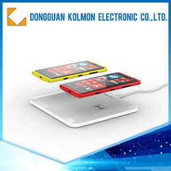 New design QI standered 5W wireless chargers for mobiles