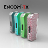 2015 new arrival box mod Encom TX 70W vape mods with temperature control