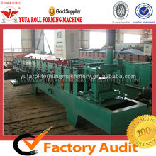 C profile steel floor tiles manufacturing automatic c channel forming machine C80-300 Automatic Purlin Roll Former