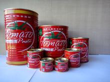 Tomate en conserve sauces, Pâte de tomate, Tomate ketchup hot vente en afrique pays