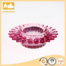 hand press petal tealight holders