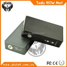 New Products 2015 Innovative Box Mod Temperature Control Box Mod Tesla 160W Meatl Vapor Mod