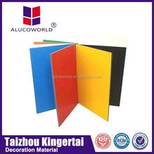 Alucoworld fire resistant decoration aluminum compose panelate wall claddings