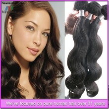Factory Direct Wholesale Grade 5a virgin unprocessed human weave charming hair extension