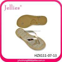 Flat Thick Sole Flip Flop Slippers Woman, Jelly Pvc Slippers Shoes