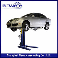 ce 5500lb movable hydraulic one post car lift