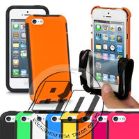 Wholesale Popular Solikon Touch Screen Strong Shock Proof Full Cover Case armor case for iPhone 5 mobile phone case cover