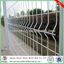 2014 Curved PVC coated welded wire fence panels