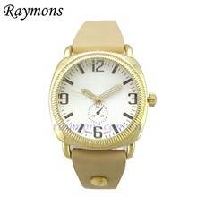 2015 Gold plating vintage retro Pull test bezel inserts vogue lady watch