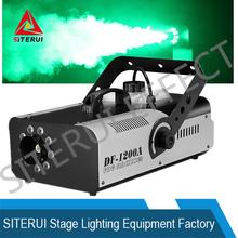 2015 new dj power fog effect 1200W LED stage smoke machine