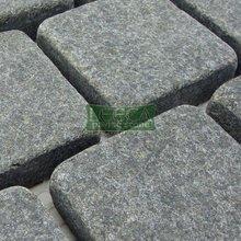 Stone black paving stone