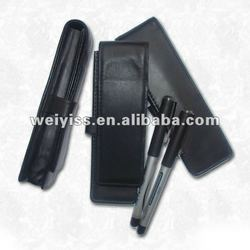 Genuine leather pen case , leather pen case wholesale