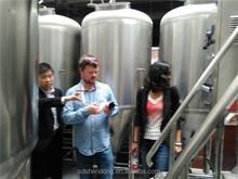 10BBL stainless steel dimple jacket fermentation tank