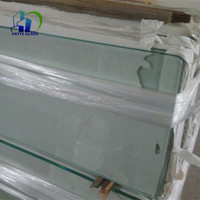 6mm tempered glass price with rounded edge grinding tempered glass with ceramic frit