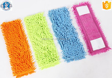Chenille Mop Head Material And Reusable Chenille Wet Mop Head