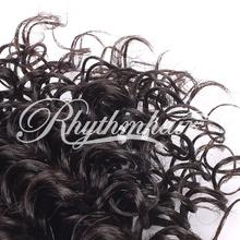 HOT!!Rhythmhair 2015 top sale kinky curly 100% human hair extension crochet hair extension