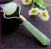 hot new products for 2015 green nature jade neck roller massage