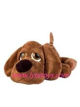 Beautiful Plush And Stuffed Brown Dog for Boys