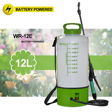 (1038) on wheels 2 and 3 Gal portable garden no pump rechargeable battery powered weed sprayer