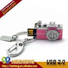 Pink USB Thumb Drive 16GB Mini Camera Flash Drive