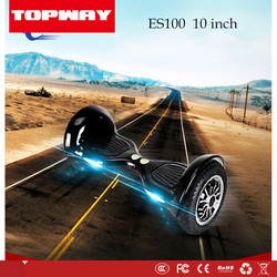 10 inch Scooter,topway ES-100 10 inch self balancing electric scooter