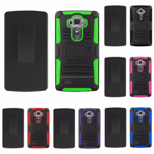 2015 Phone NEW Armor Tuff Holster Belt Clip HIGH QUALITY NEW Cover Case For G4 with stand