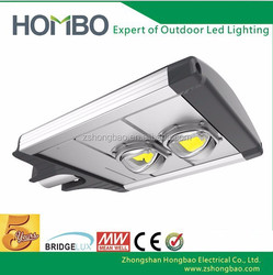 180W to 200w bridgelux chip meanwell driver or moso driver led street lamp ip65