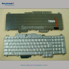 Popular model Laptop replacement keyboard for Dell Vostro 1700 Inspiron 1720 1721 XPS M1720 M1721 M1730 Latin Silver backlit