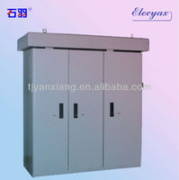 SKW-004 electric steel enclosure/outdoor battery cabinet/sheet metal indoor case with 3 locking doors