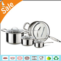 popular ss201 stainless steel korea cookware