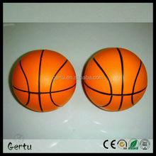 promotional pu foam anti stress ball basketball
