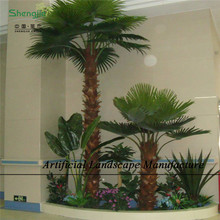 SJPT12 Hot sale for indoor ot outdoor decoration artificial palm tree