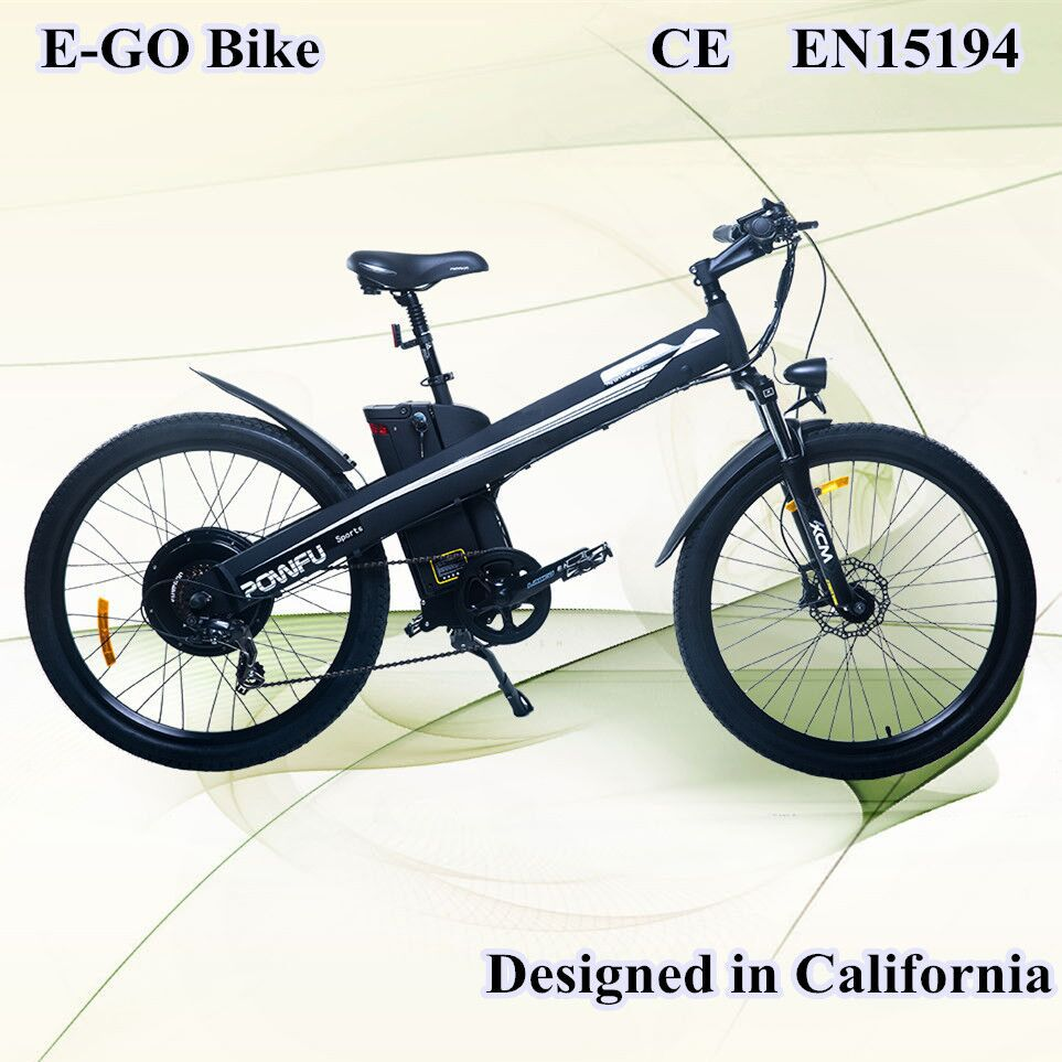 Seagull Electric Scooter Bike With Pedals Motor Electric